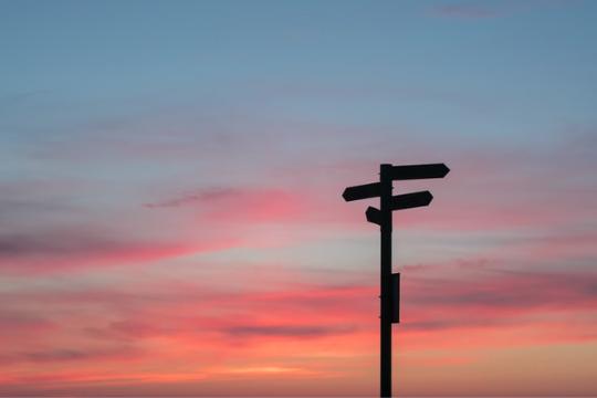 Erfolgreiche Change-Kommunikation, Wegweiser, Mast