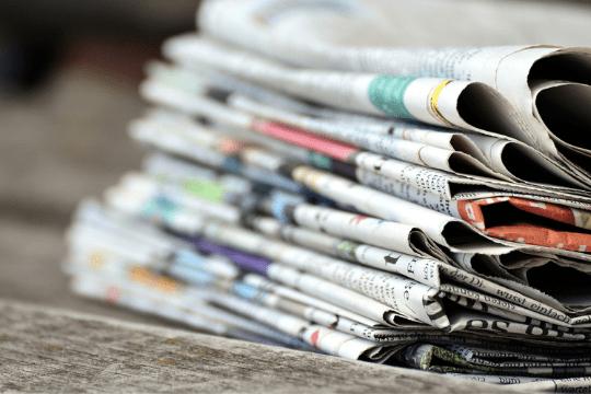 PR-Reporting erstellen, Zeitungen