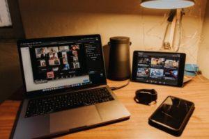 Virtuelle Events planen, Notebook