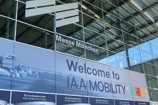 IAA Mobility 2021, Messe, Eingang